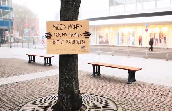 Need money for my family in the rainforest